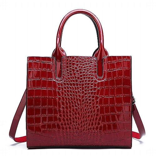 Amazon.com: Las mujeres bolsos, Simple Moda Patrón de ...