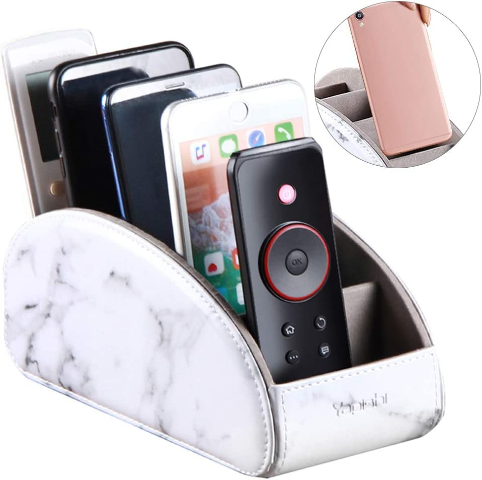 Remote Control Clothes Phone Organizer Holder Desk Plastic Storage Basket Box