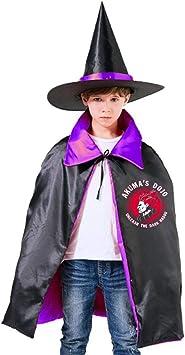 Nujshf Street Fighter Akuma Demon Dojo Unisex Kids Hooded Cloak