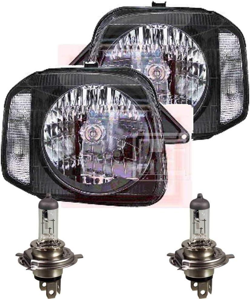 Scheinwerfer Set Jimny Bj Lampen 98 H4 Frontscheinwerfer inkl