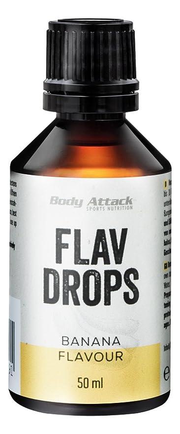 Body Attack Flav Drops Saborizantes 50 ml - Banana