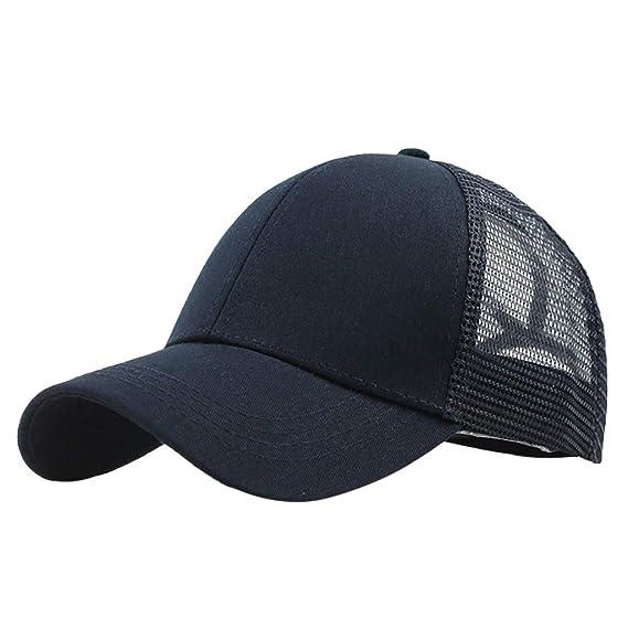 RISTHY Gorros de Béisbol Ajustable Sombrero de Deporte al Aire ...