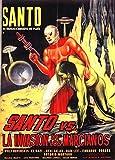 Santo Versus the Martian Invasion Poster Movie Spanish 11x17 Santo Wolf Ruvinskis El Nazi Beny Galßn