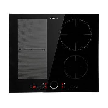 Klarstein Delicatessa 60 Hybrid Placa de cocina • Placa de inducción • Para empotrar • 4