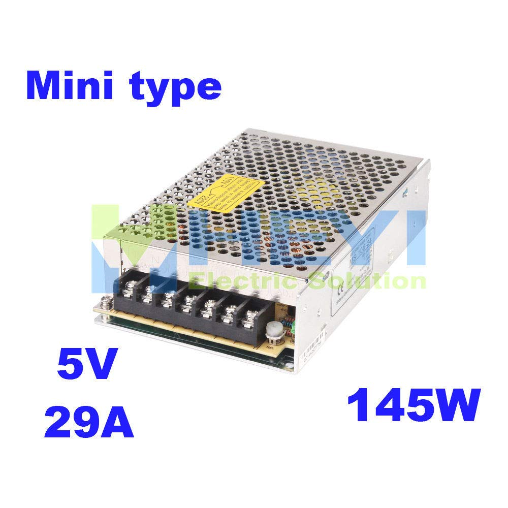 iProTool Mini Size 145w 5VDC 29A Single Output led Power Supply Switching for Belt Cutting Machine