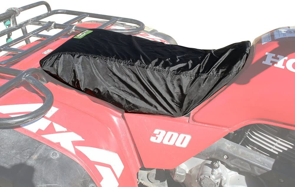 Black Outlaw Utility 1 Year Warranty- ATV Accessories//Automotive Accessories Universal Seat Cover for Utility Quads ATV/'s Padded Seat Protector Universal Waterproof ATV Seat Pad