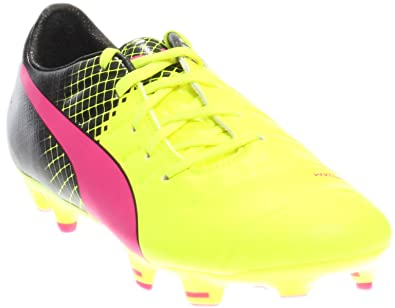 c7e796e9f5da PUMA Kids Unisex Evopower 1.3 Tricks FG Soccer (Little Kid Big Kid) Pink