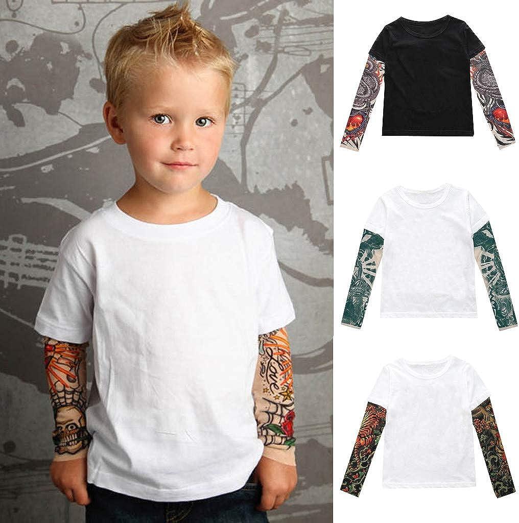 6 Anni Felpa Bambino Bambina Manica Lunga Girocollo Stampa Cartoni Animati Abbigliamento Invernali Autunno Ragazza Ragazzo 3 Mesi Mbby Magliette Tatuaggi Bambini