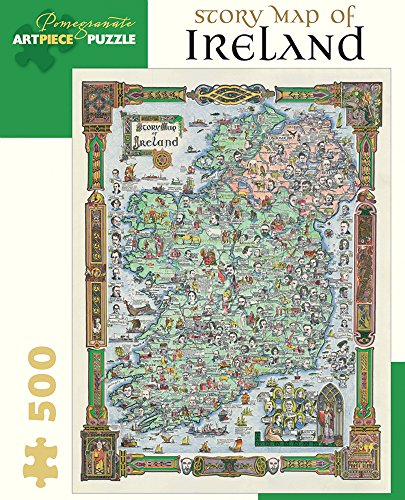 Pomegranate Story Map of Ireland 500-piece Jigsaw ()