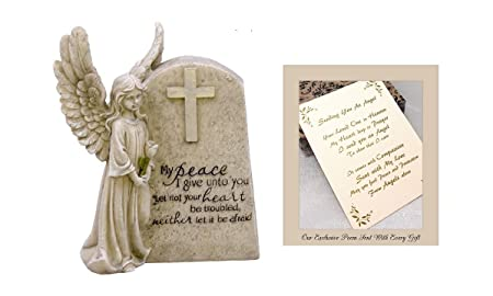 Angel of Peace to Express Sympathy for Funeral Or Memorial Comfort The Grieving for Loss of A Loved One