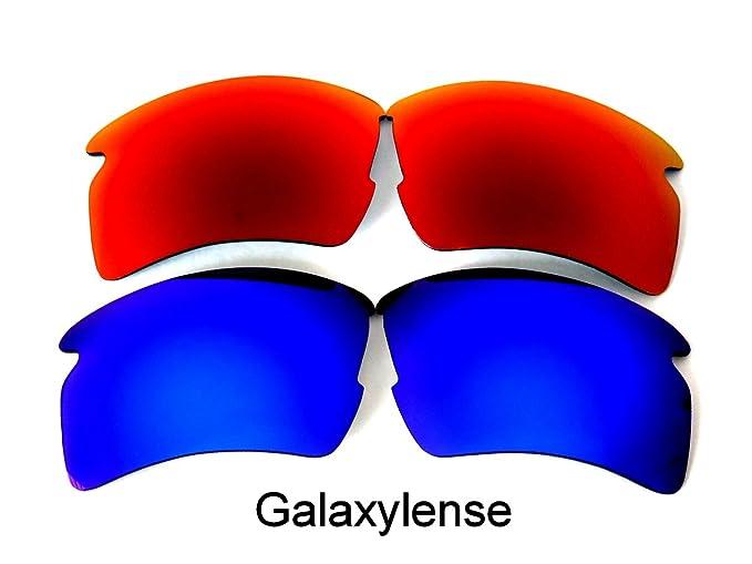 Galaxy Lentes De Repuesto Para Oakley Flak 2.0 XL Polarizados azul y rojo 2  Pares, eb5e5388b1