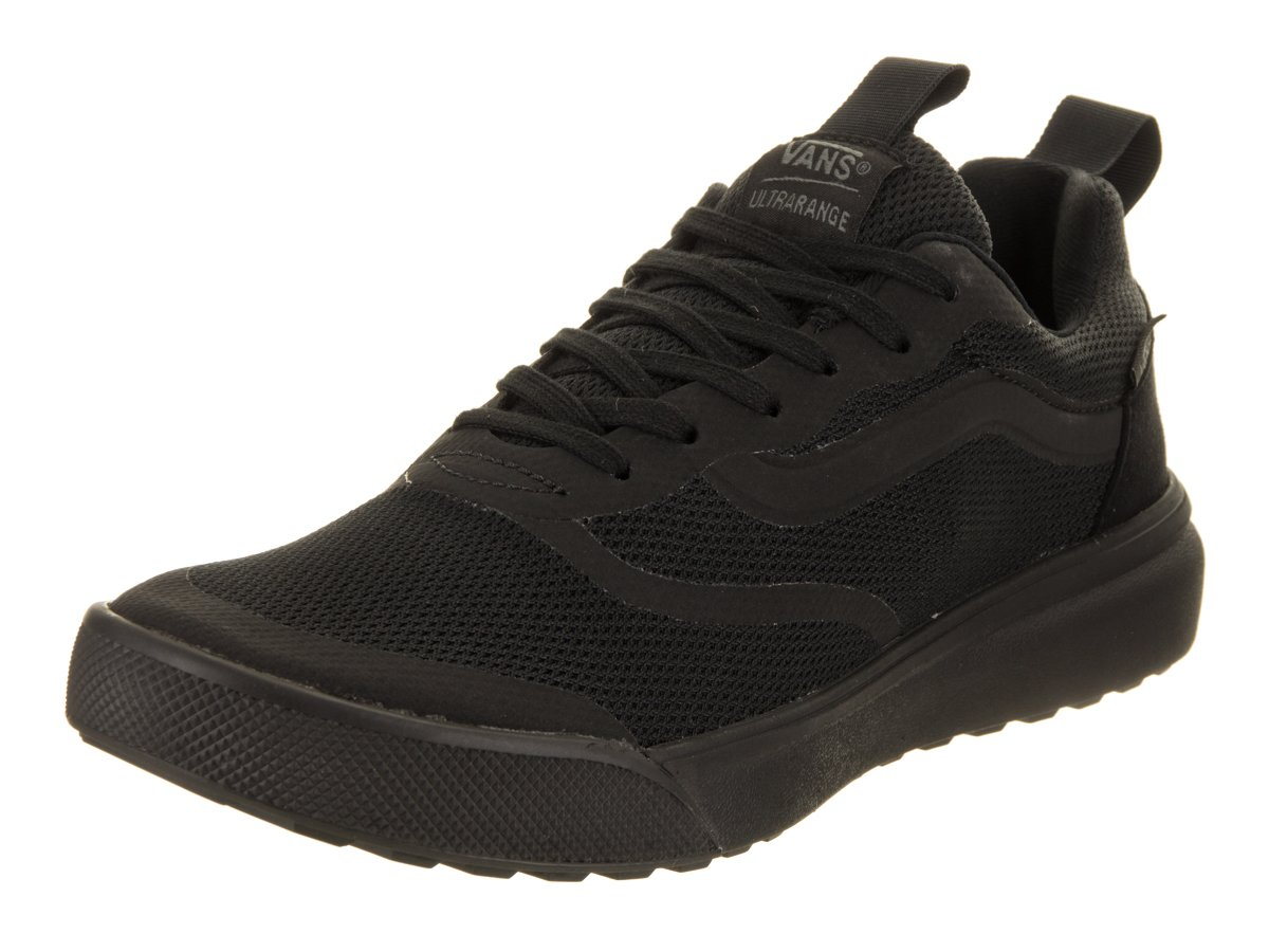 Vans Men's Ultrarange Rapidweld Skate Shoe 8 Women / 6.5 Men M US Black/Black