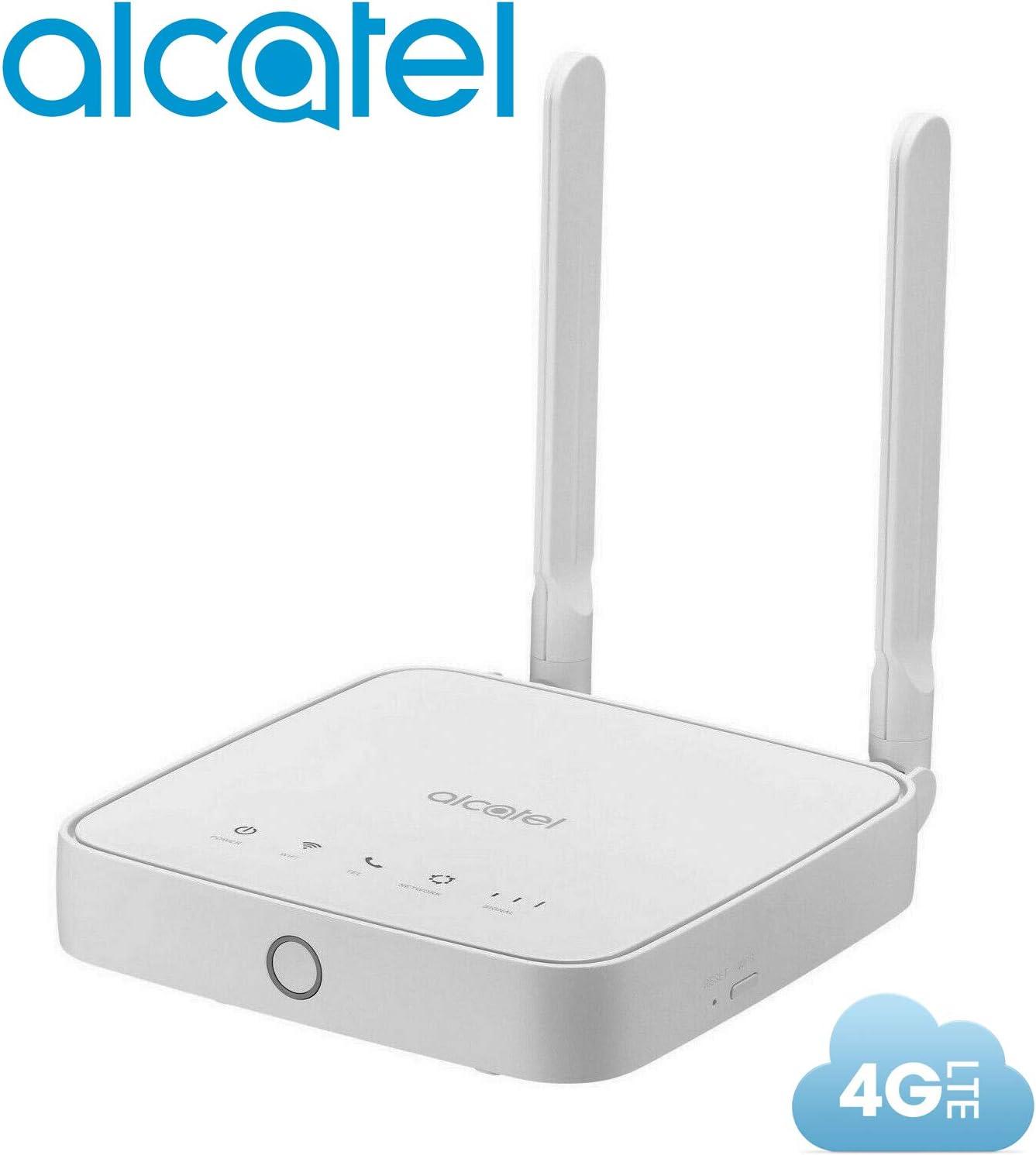 Router Alcatel Link Hub 4G LTE desbloqueado en todo el mundo HH41NH Multibam 150 Mbps Wi-Fi (4G LTE EE. UU. América Latina Caribe Europa África ...