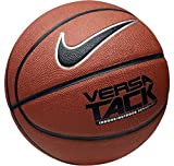 NIKE Versa Tack Indoor/Outdoor Basketball Unisex,Amber/Black/Silver,7