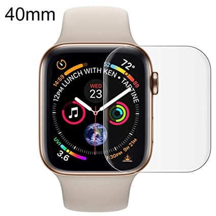 Amazon.com: GzPuluz Smartwatch Screen Film for Apple Watch ...
