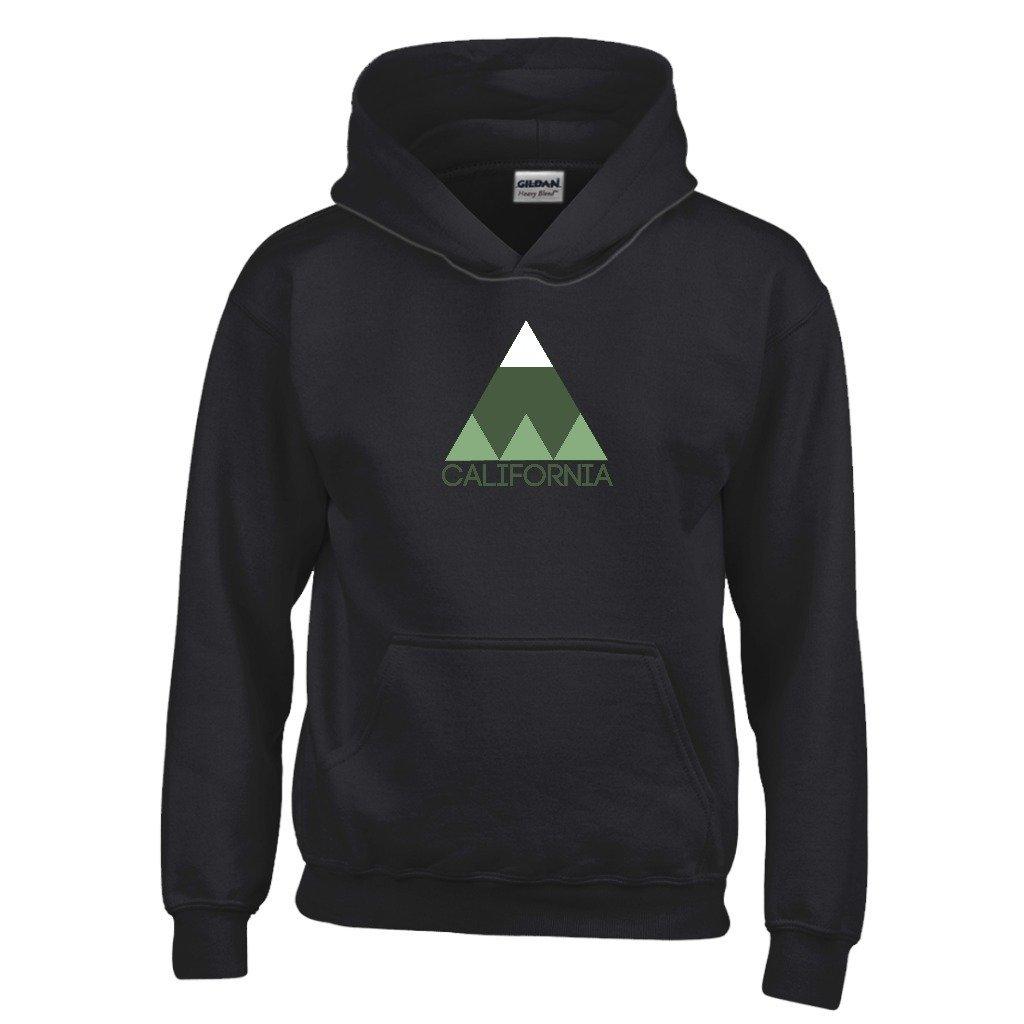 California Kids Sweatshirt Minimal Mountain Youth Hoodie