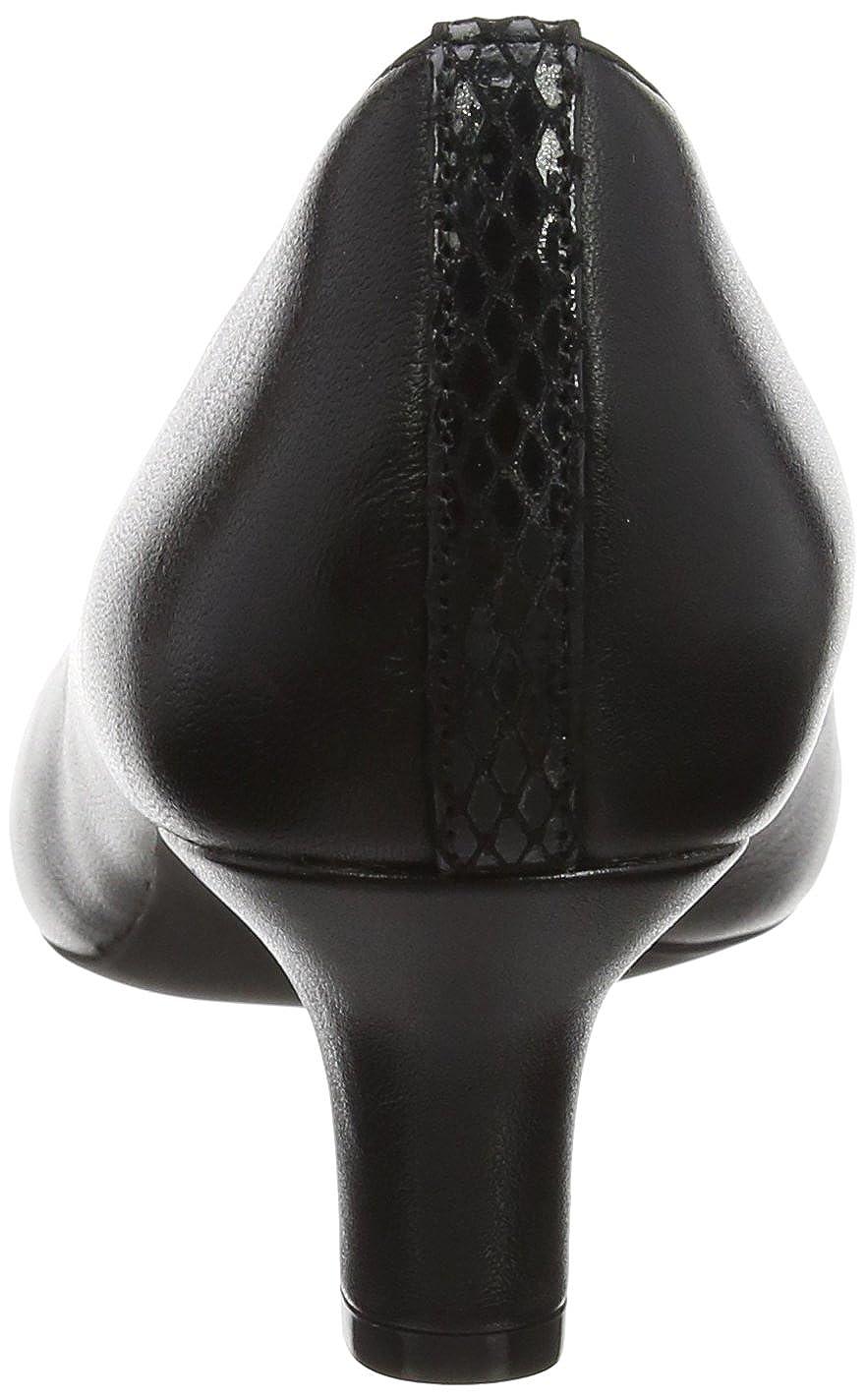 Rockport Pump Damen Kirsie Plain Pump Rockport Pumps Schwarz (schwarz Leder) ee8370
