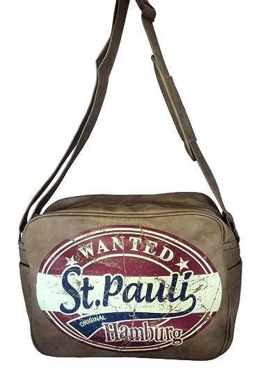 Robin Ruth Retro TascheUmhängetasche in braun St. Pauli