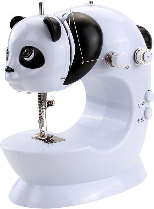 ULTNICE Mini máquina de Coser eléctrica de Alta/Baja Velocidad ...
