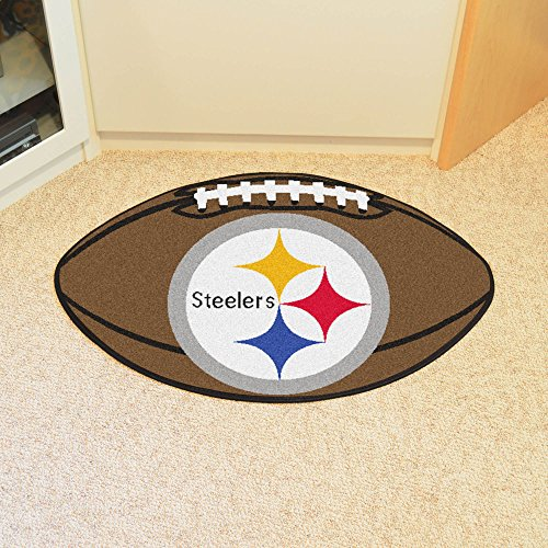 NFL Pittsburgh Steelers Football Mat ()