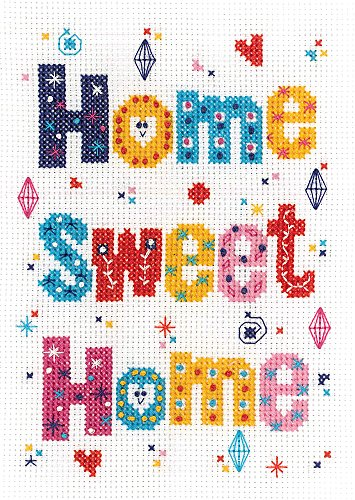 (Janlynn Home Sweet Home Cross Stitch Supplies )