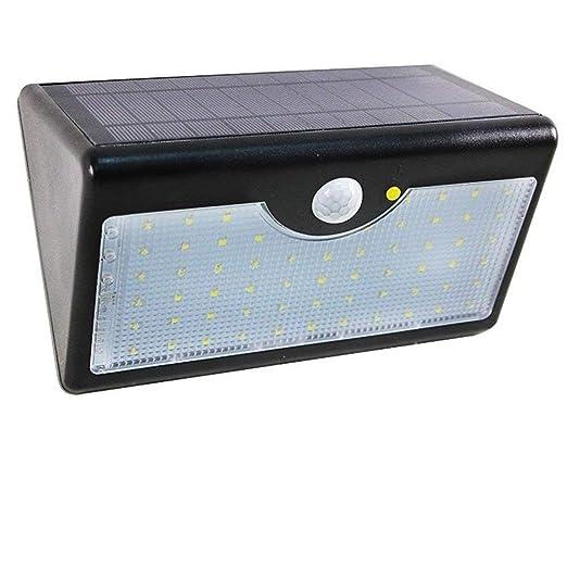 Lampade Solari Da Giardino Amazon.Aofeng Lampada Solare Da Giardino A 60 Led Con Sensore Di Movimento Pir Impermeabile Lampada Da Giardino A Luce Solare Con Telecomando Nero