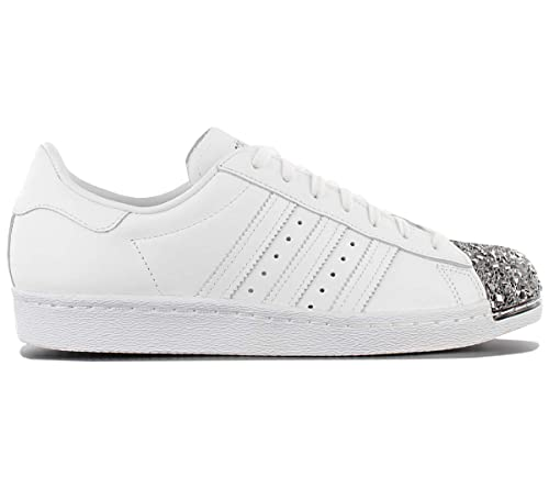 3269a354b354ca adidas Womens Originals Womens Superstar 80s Metal Toe Trainers in White -  UK  Amazon.co.uk  Shoes   Bags