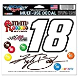 """NASCAR Kyle Busch 19350012 Multi-Use Colored Decal, 5"""" x 6"""""""