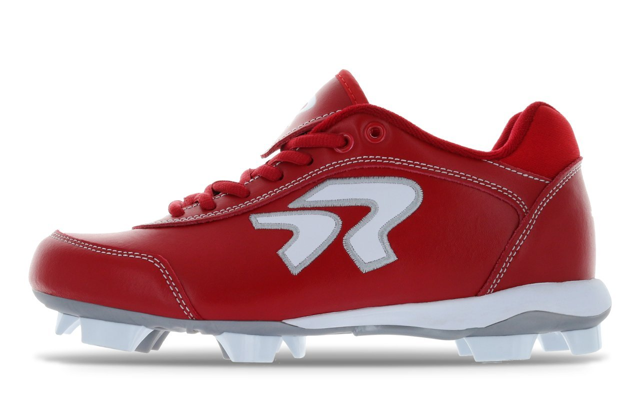 Dynasty Cleats Red/White 9.0