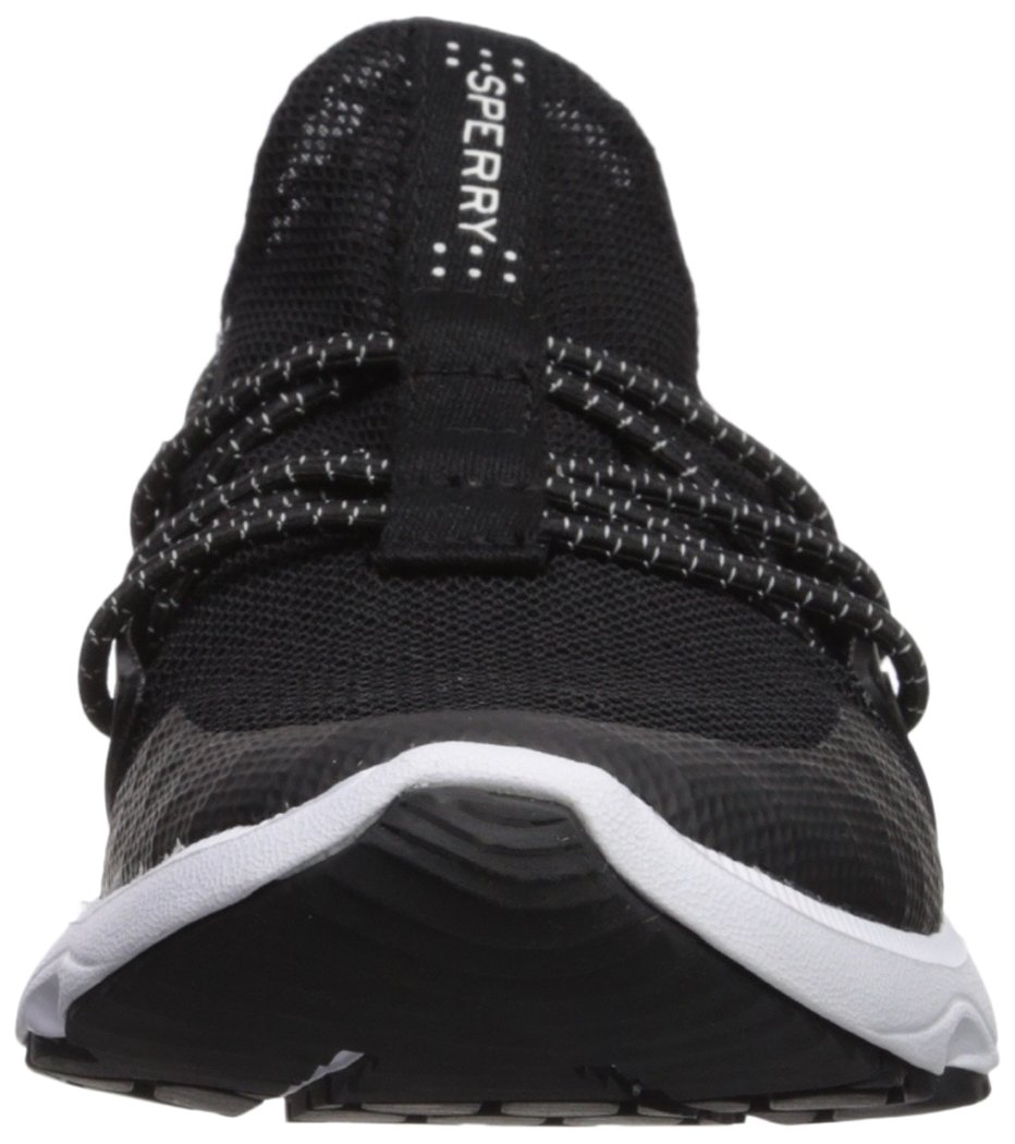 Sperry Top-Sider Women's Sperry 7 Seas Bungee Sneaker B075FFK14Y 11 B(M) US|Black/White