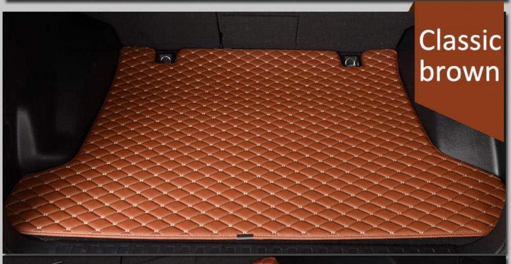 pour Mercedes Benz Classe S W222 350400500600 L S400 S500 S600 Tapis de Sol-Beige ZHXMI Tapis de Coffre de Voiture