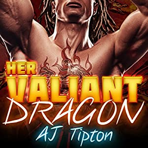 Her Valiant Dragon: A BBW Interracial Paranormal Romance Audiobook