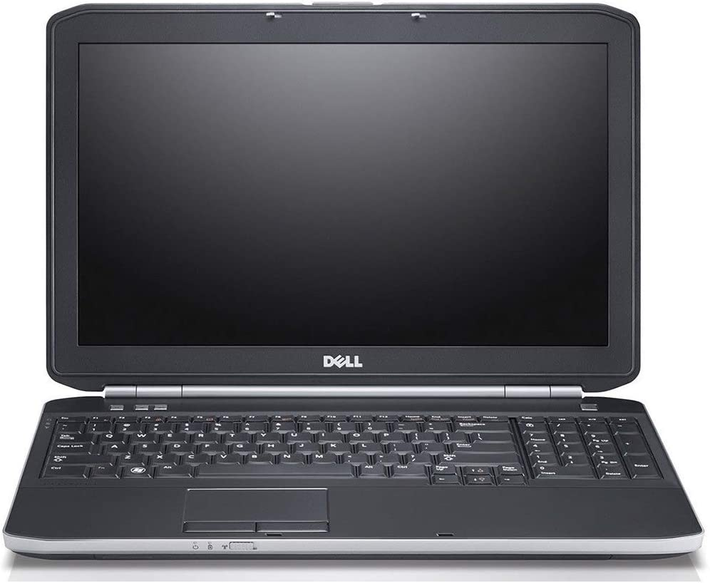 Dell Flagship Latitude E5520 15.6 Inch HD Business Laptop (Intel Core i5-2520M up to 3.2GHz, 8GB DDR3 RAM, 256GB SSD, USB, DVD, HDMI, VGA, Windows 10 Pro) (Renewed)