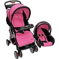 Infanti Carriola 4 en 1 Lenni, color Negro/ Rosa