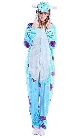 fbf66bc780 Dolamen Adulto Unisexo Onesies Kigurumi Pijamas