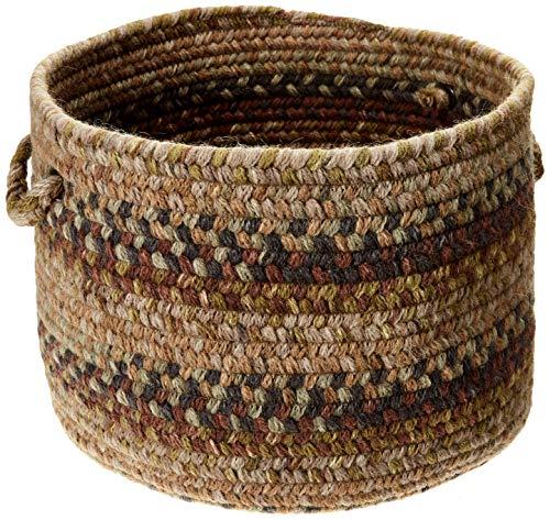 (Colonial Mills Rustica Utility Basket, 18 by 12-Inch, Grecian Green)