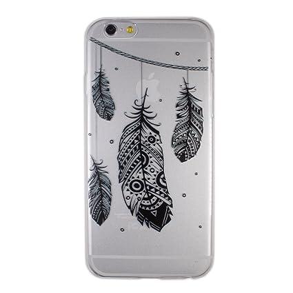 coque iphone 6 plume