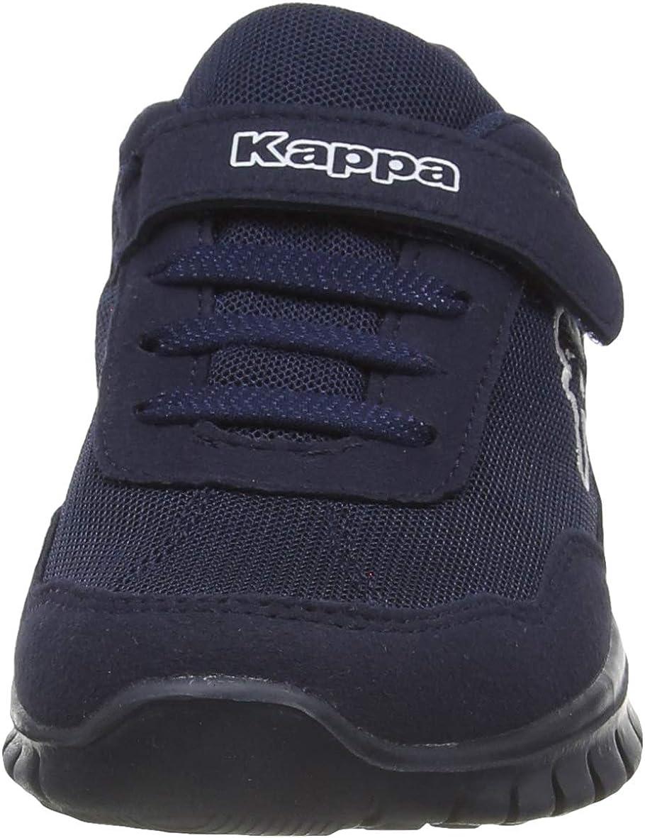 Kappa Jungen Squince K Sneaker Kinder Sportschuhe 260784 Weiß