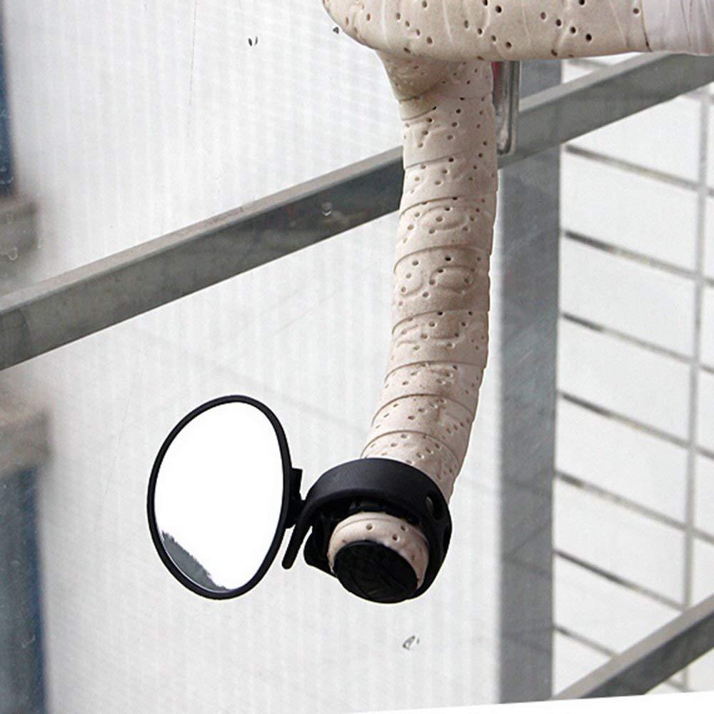 Windwinevine Bike Bicycle Cycling Universal Adjustable Rear View Mirror Handlebar Rearview Mirror Bike Accessories Flexible Safety Rearview
