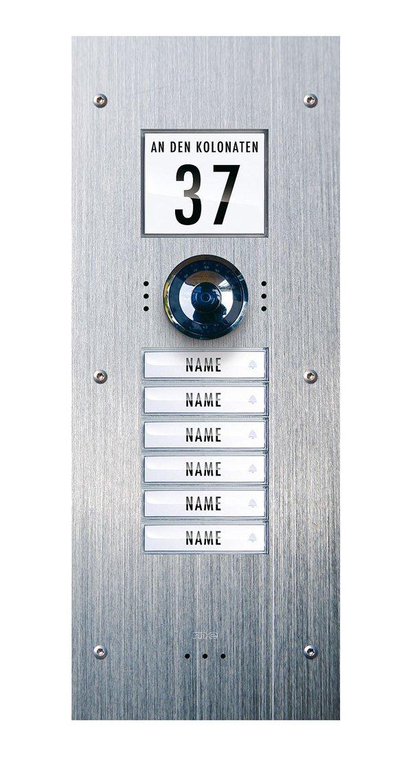m-e VDV 860 Video Türsprechanlage für das Mehrfamilienhaus
