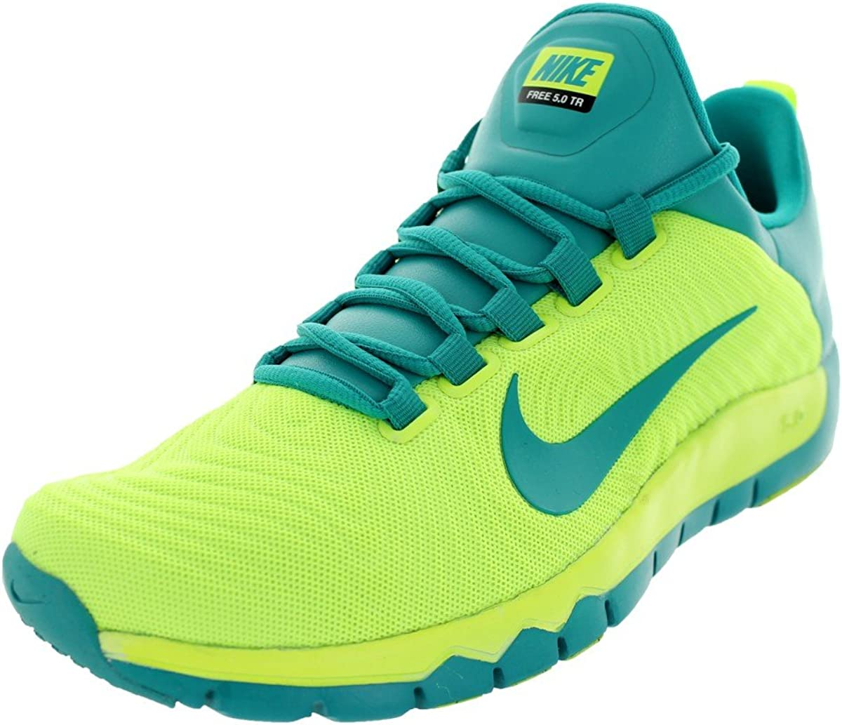 nike free trainer 5.0 cross Amazon.com | Nike Mens Free Trainer 5.0 Volt/Turbo Green 8 D ...