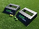 RampShot Game Set- The Next Big Thing in Outdoor Games for Families, Yard, Beach, Tailgate, Camping - Includes 2 Ramps, 4 Balls, 2 Stickers, 2 Nets, and Instructions