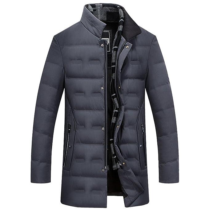 the latest 75337 b1060 YiLianDa Uomo Outwear Caldo Giubbotto da Piumino Sportivi ...