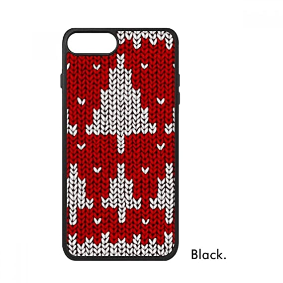 Amazon Red Tree Knit Nordic Illustration Pattern For Iphone 88