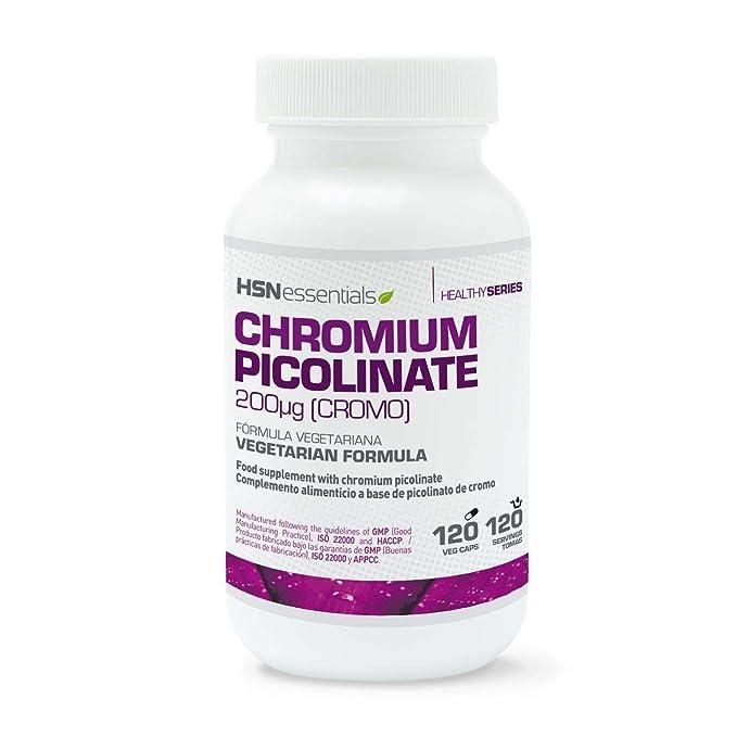 Picolinato de Cromo de HSN Essentials - Control de tus niveles de Colesterol y de Azúcar