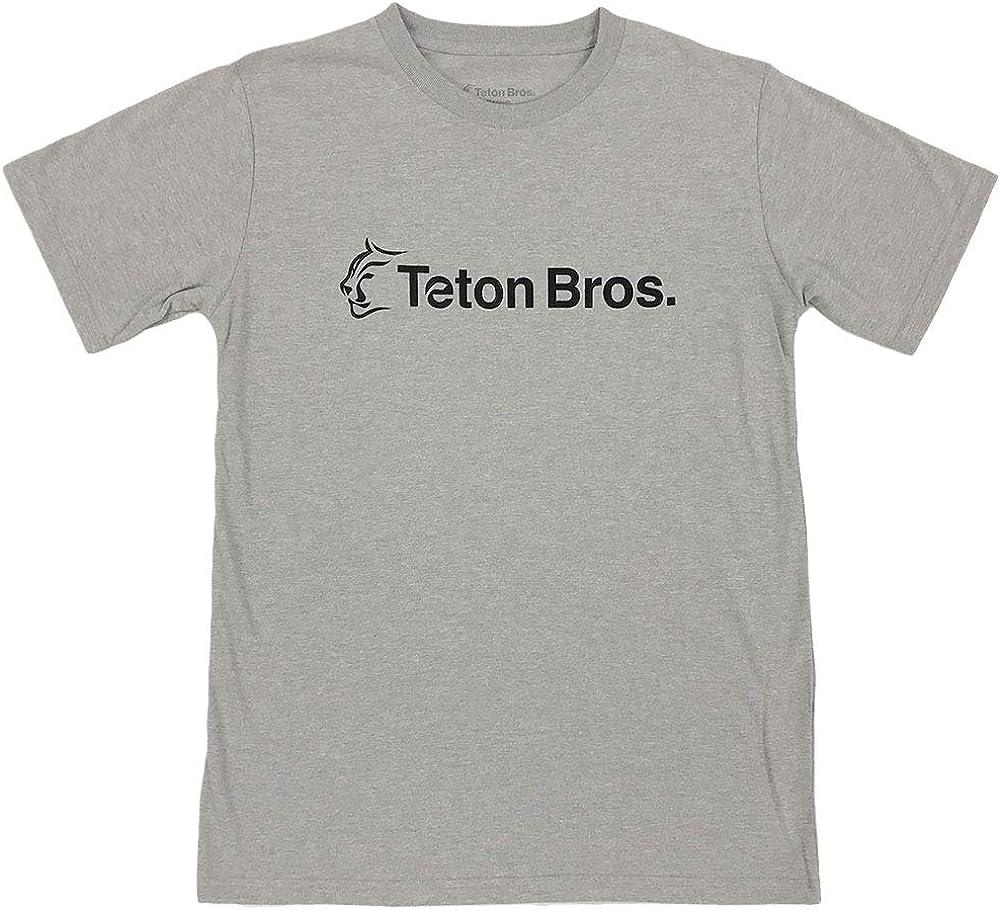 Teton Bros.(ティートンブロス) スタンダードロゴT男性用 TB135M