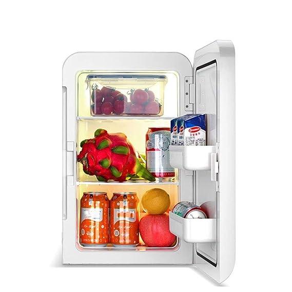 QE Refrigerador del automóvil-Mini refrigerador 20L Dual-Core Mute ...