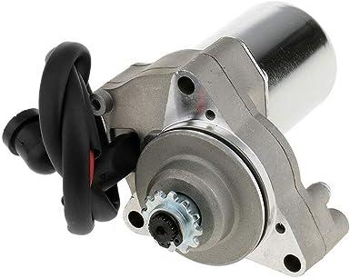 Yushho56t Elektro Startermotor Motorrad Teile Motor Elektro Startermotor Ersatz Für 50cc 70cc 90cc 110cc Motorrad Atv Quad Beleuchtung