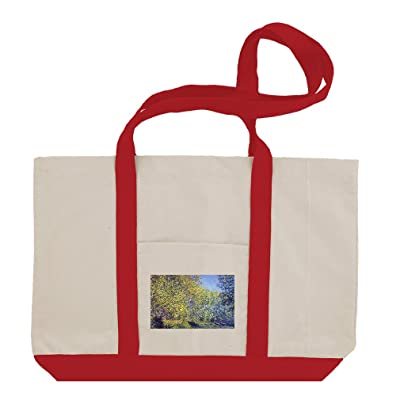 1caaaf1d2f9b 70%OFF A Bend In The Epte Giverny (Monet) Cotton Canvas Boat Tote ...