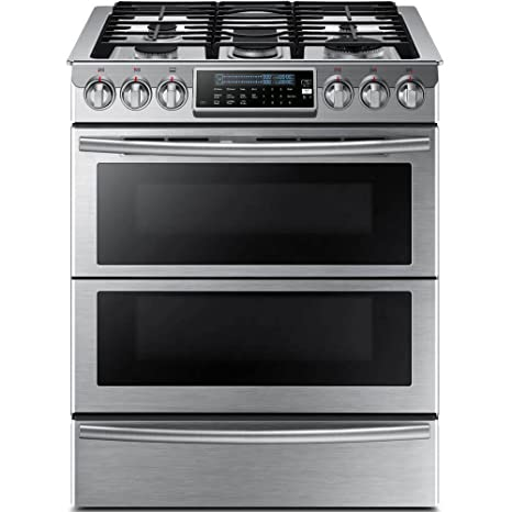 amazon com samsung appliance ny58j9850ws 30 slide in dual fuel rh amazon com Convection Oven vs Conventional Oven Best Electric Ranges with Convection Ovens